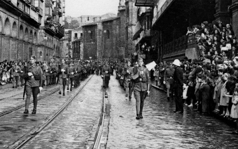 La caída de Bilbao
